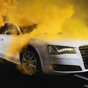 audi a8 photography