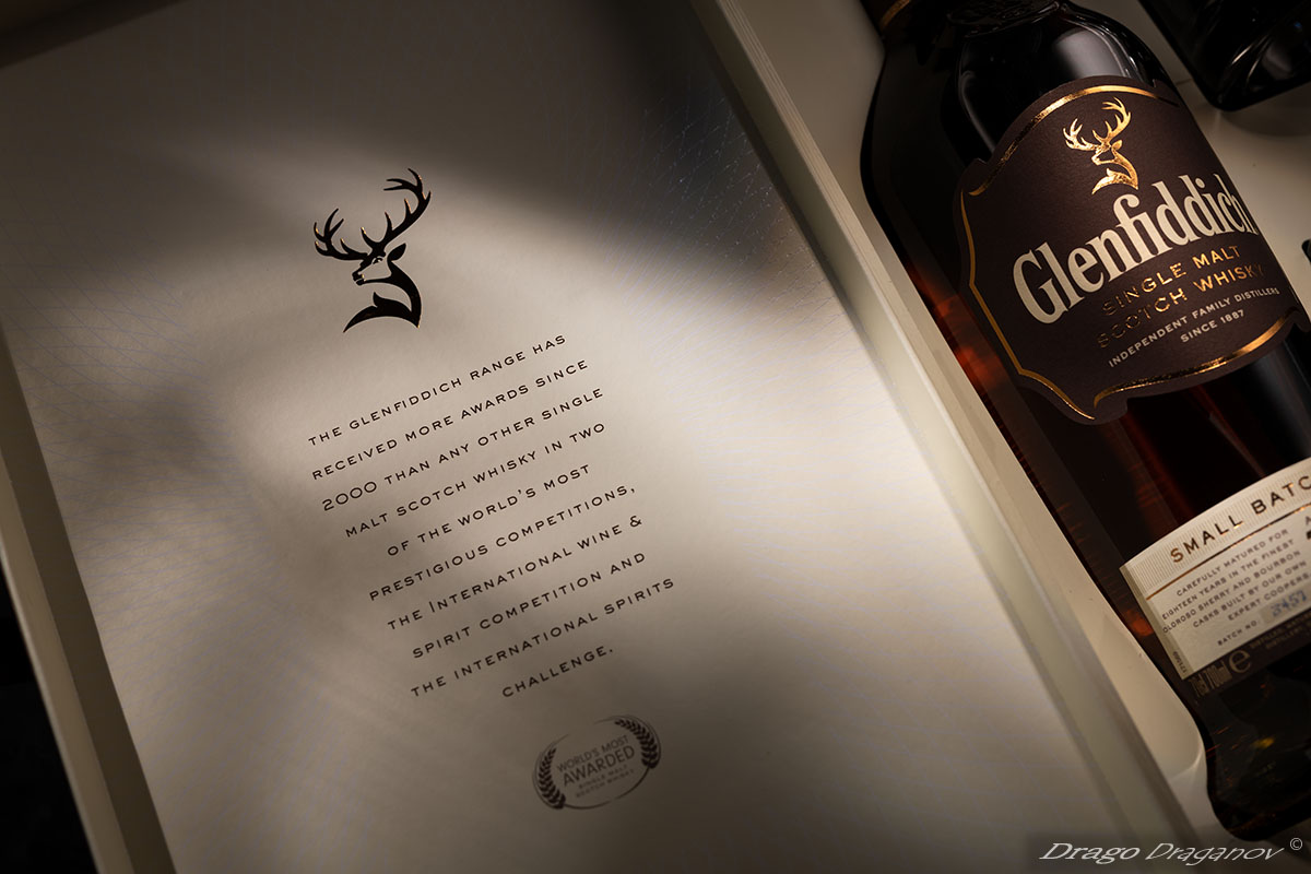 рекламна фотография Уиски