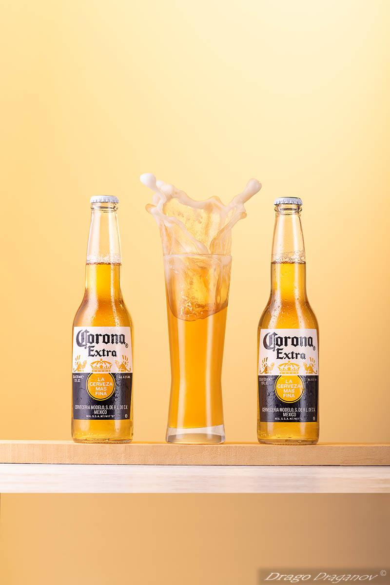 Рекламна Фотография Бира, Corona