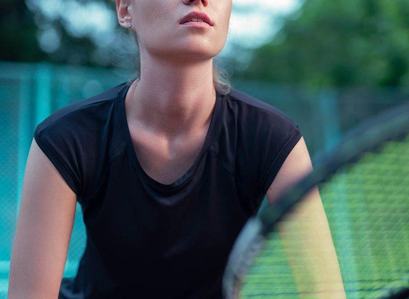 Спортна фотография, Ивета, Тенис