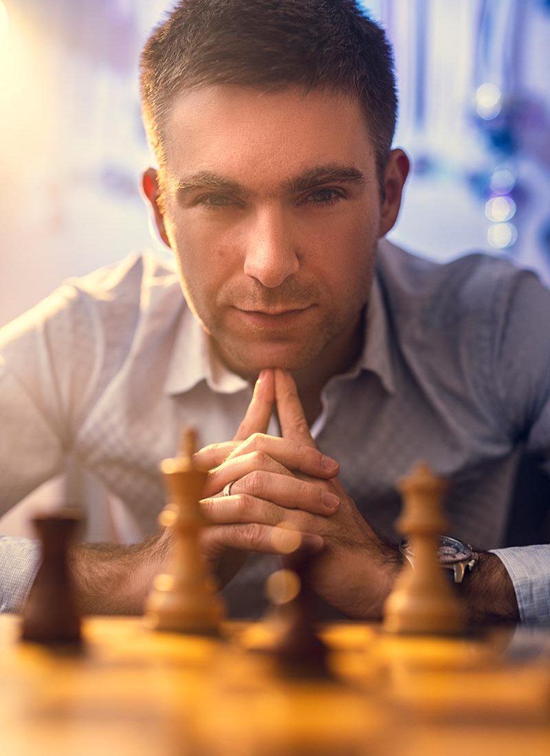 chess photography portrait