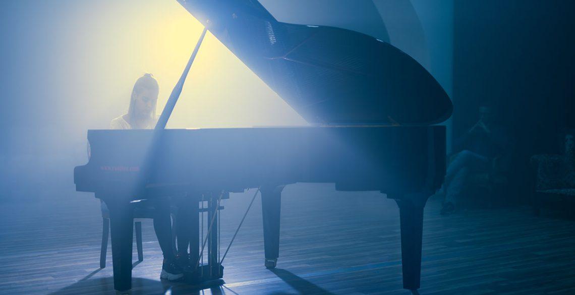 Portrait of pianist