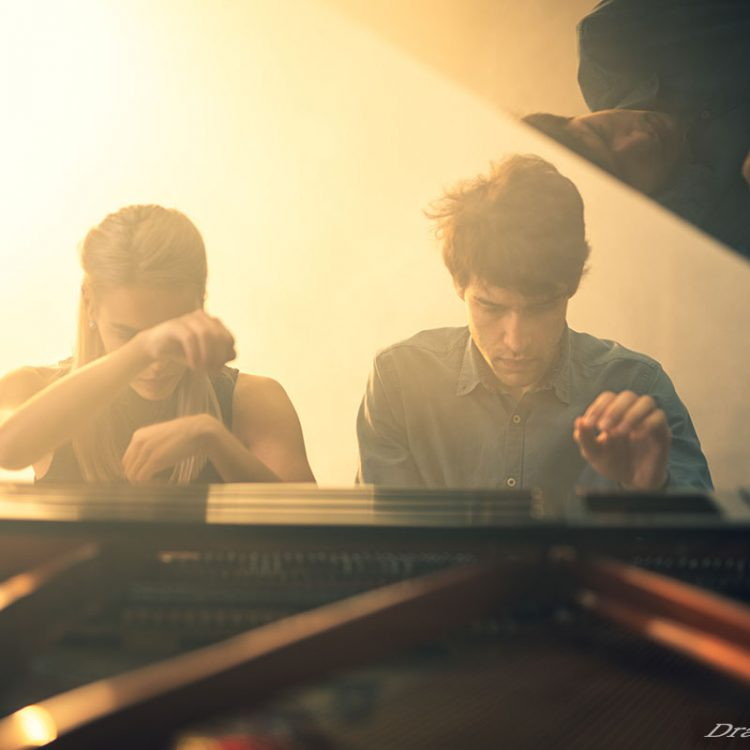 Portrait of pianists
