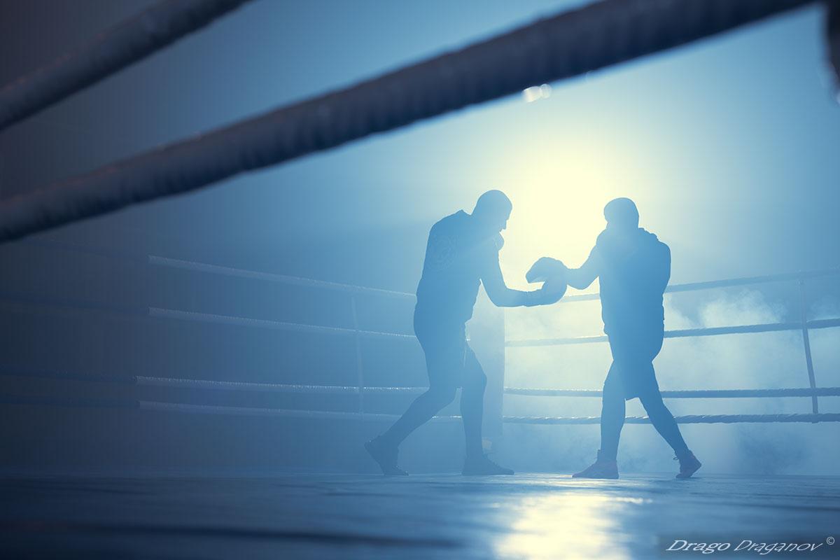 sport photographer boxer